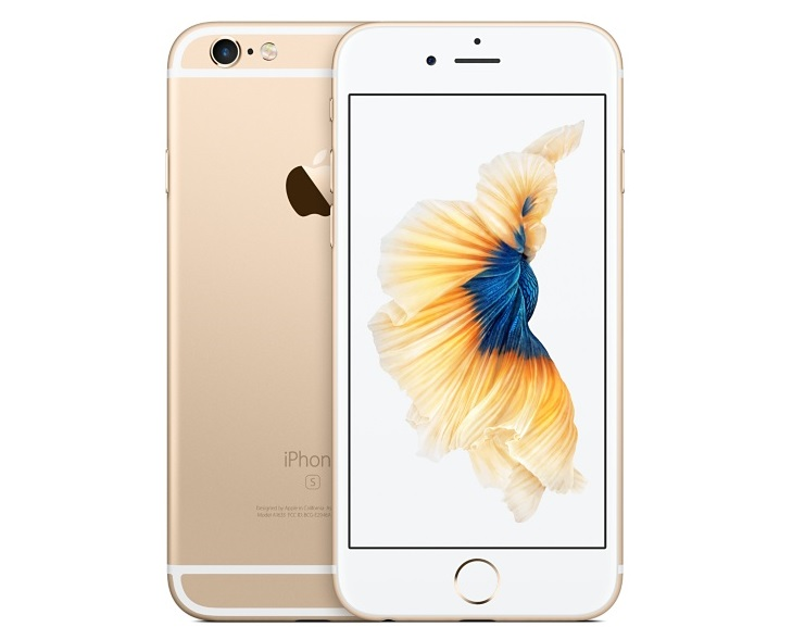 Apple iPhone 6s 128GB Gold (CZ Distribuce)