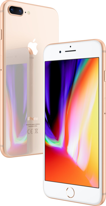 Apple iPhone 8 Plus 256GB Gold (CZ Distribuce)