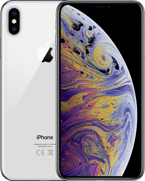 Apple iPhone XS Max 512GB Silver (CZ Distribuce)