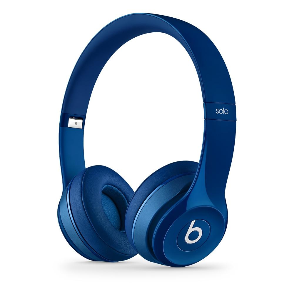 Beats Solo2 On-Ear Headphones - Blue