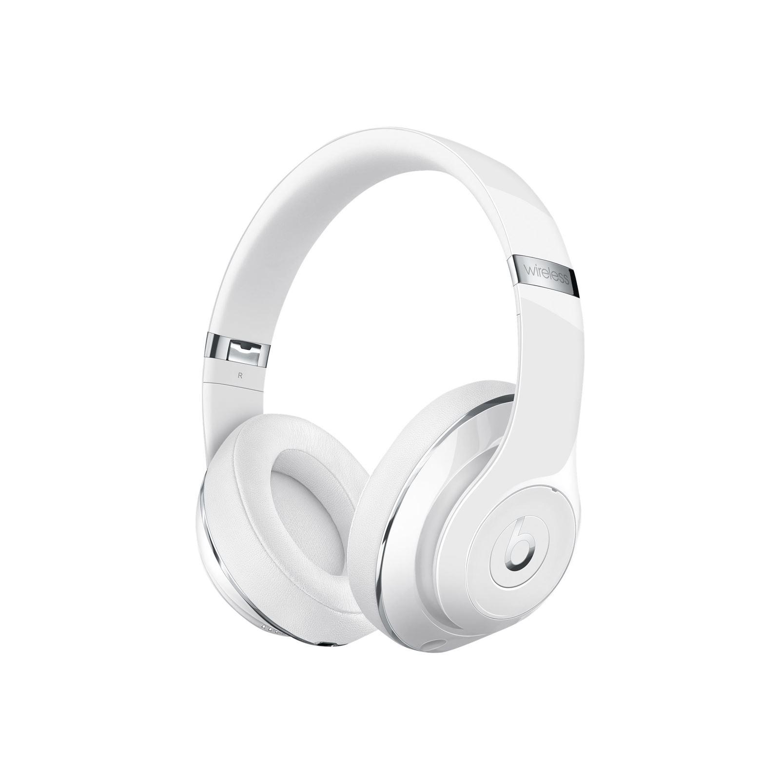 Beats Studio Wireless Headphones - Gloss White