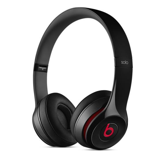 Beats Solo2 On-Ear Headphones - Black