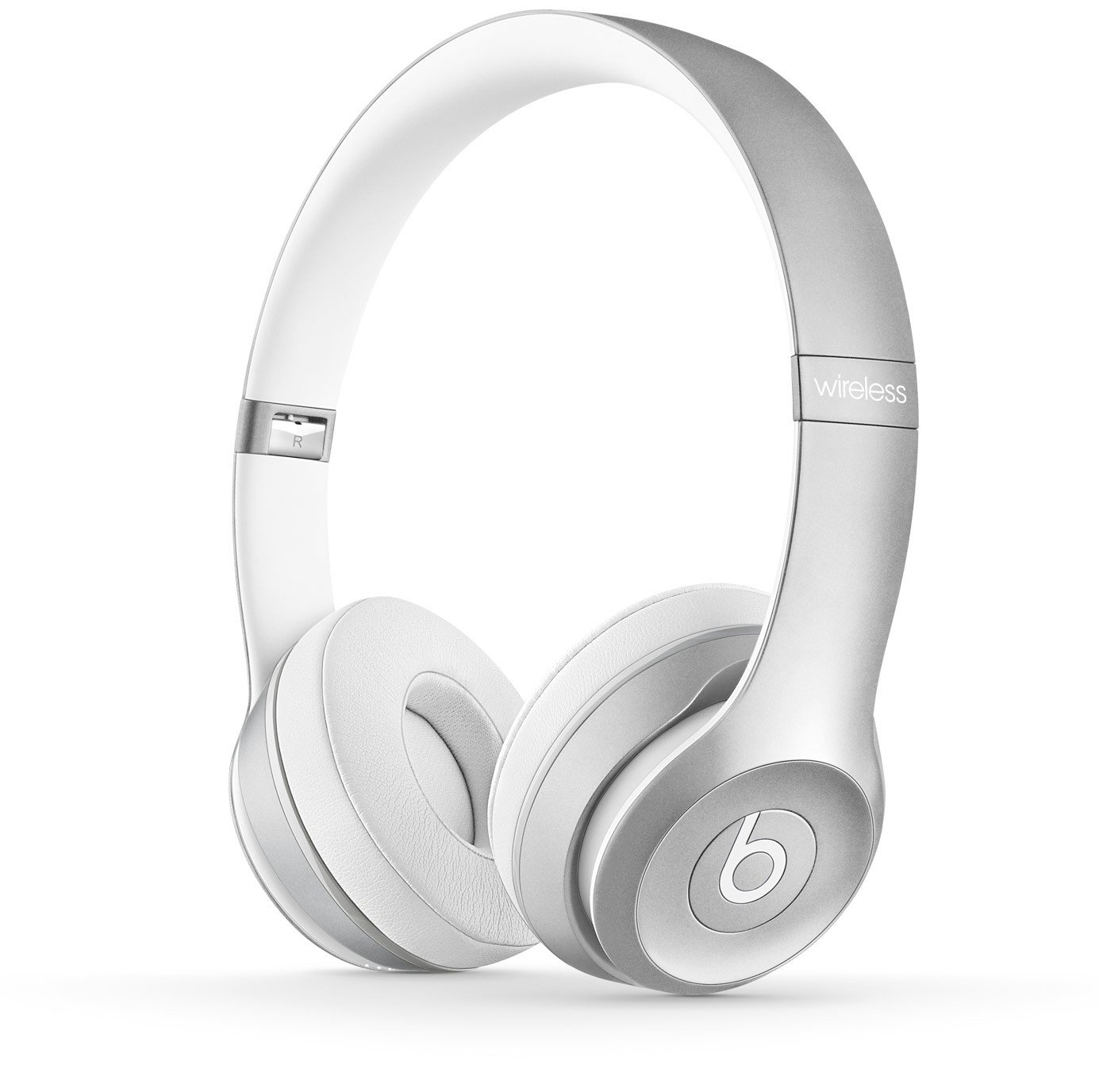 Beats Solo2 Wireless Headphones - Silver