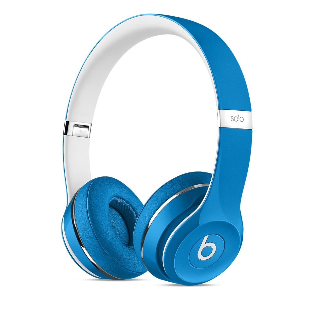 Beats Solo2 On-Ear Headphones Luxe - Blue
