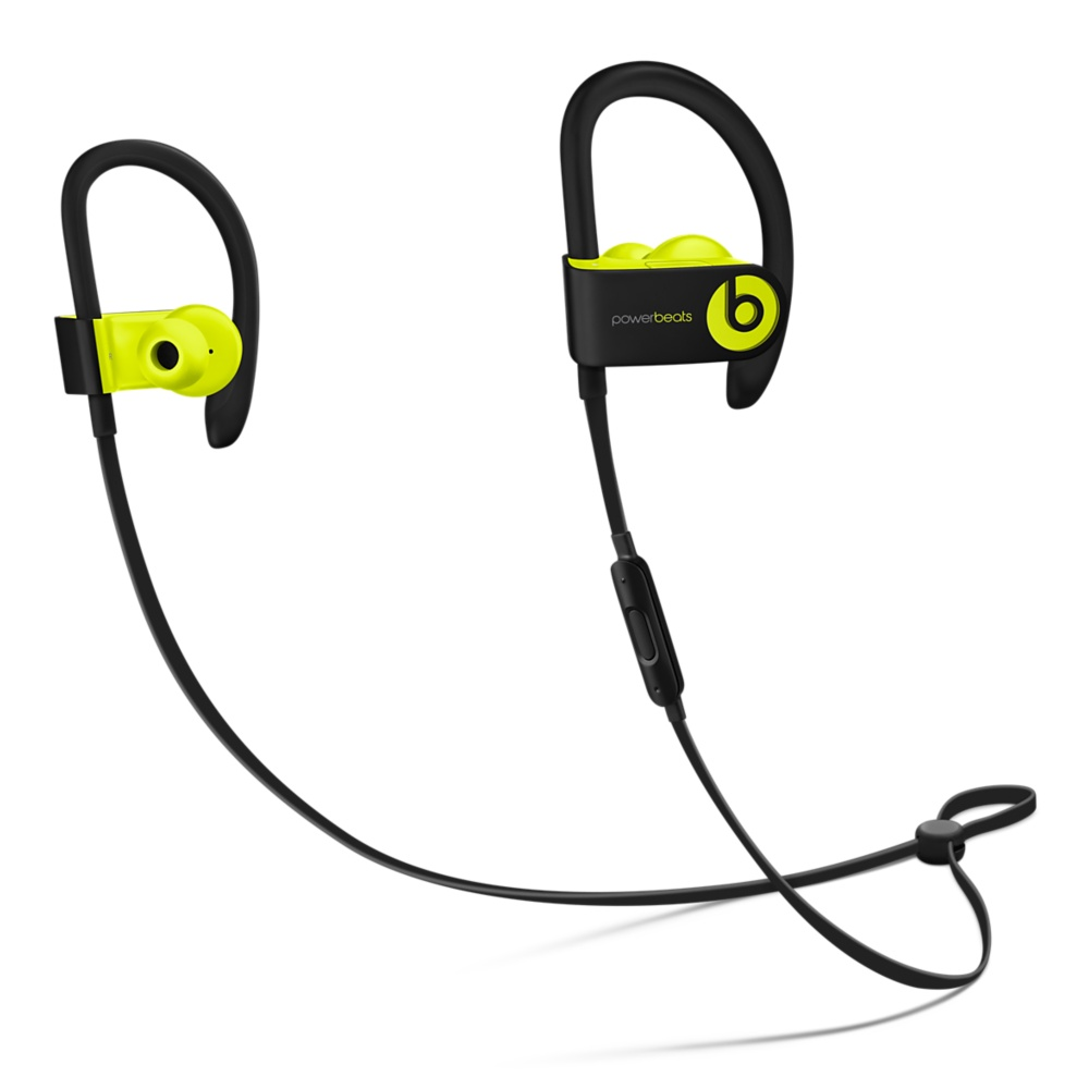 Powerbeats3 Wireless Earphones - Shock Yellow