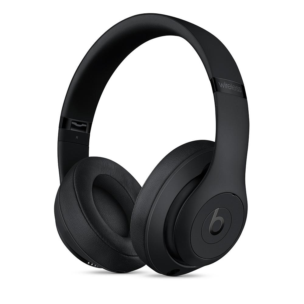 Beats Studio3 Wireless Headphones - Matte Black-SK - MX3X2EE/A