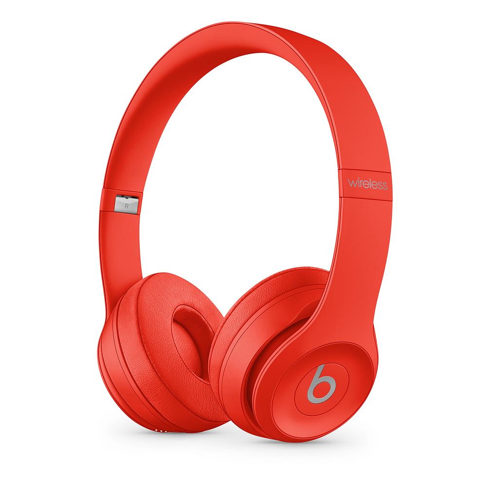 Beats Solo3 WL Headphones - Red - MX472EE/A