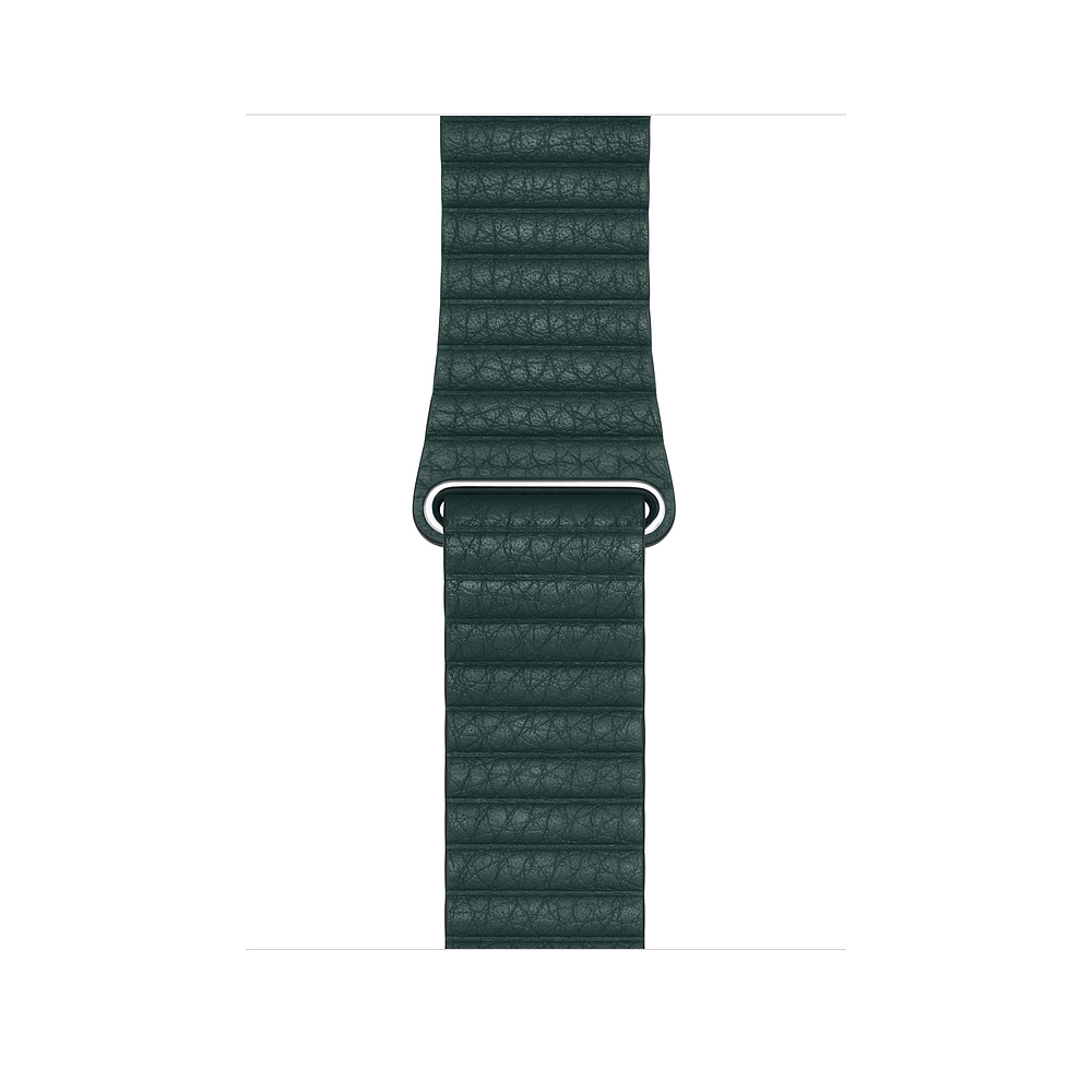 Watch Acc/44/Forest Green Leather Loop - M
