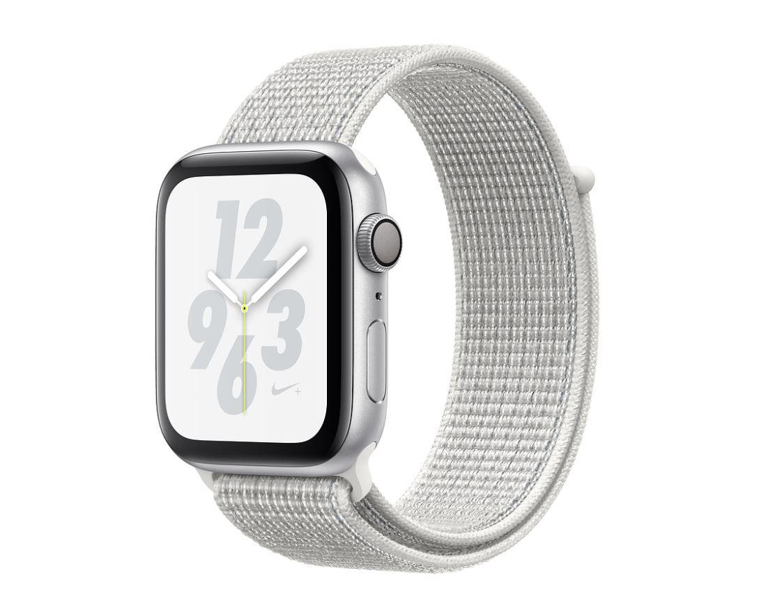 Watch Nike+, S4, 40mm, Silver/Sum White Sport Loop