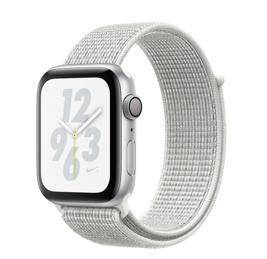 Watch Nike+, S4, 44mm, Silver/Sum White Sport Loop