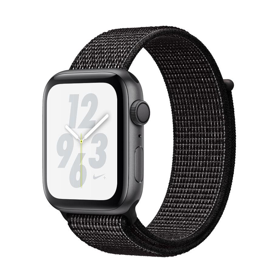Watch Nike+, S4, 44mm, Sp Grey/Black Sport Loop