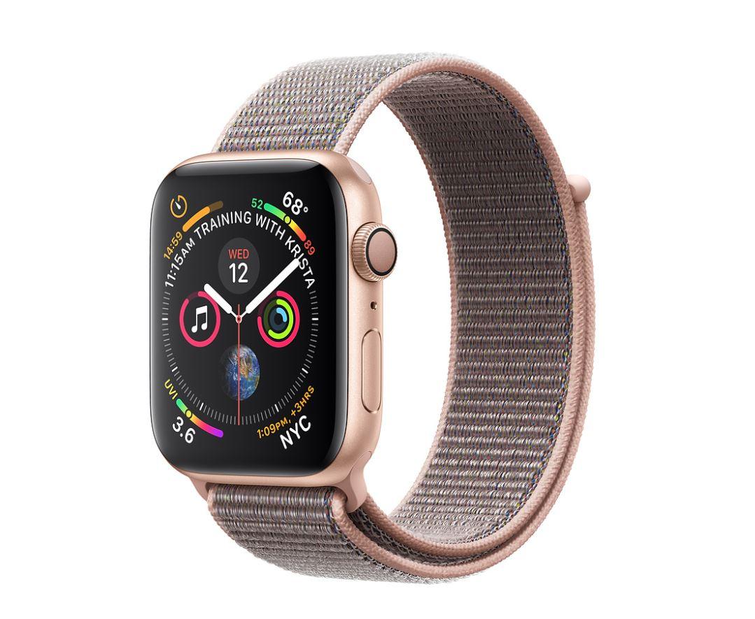 Watch S4, 44mm, Gold/Pink Sand Sport Loop