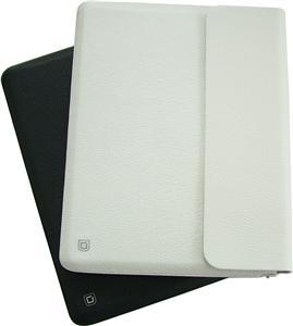 Dicota Leather Sleeve for iPad - bílý
