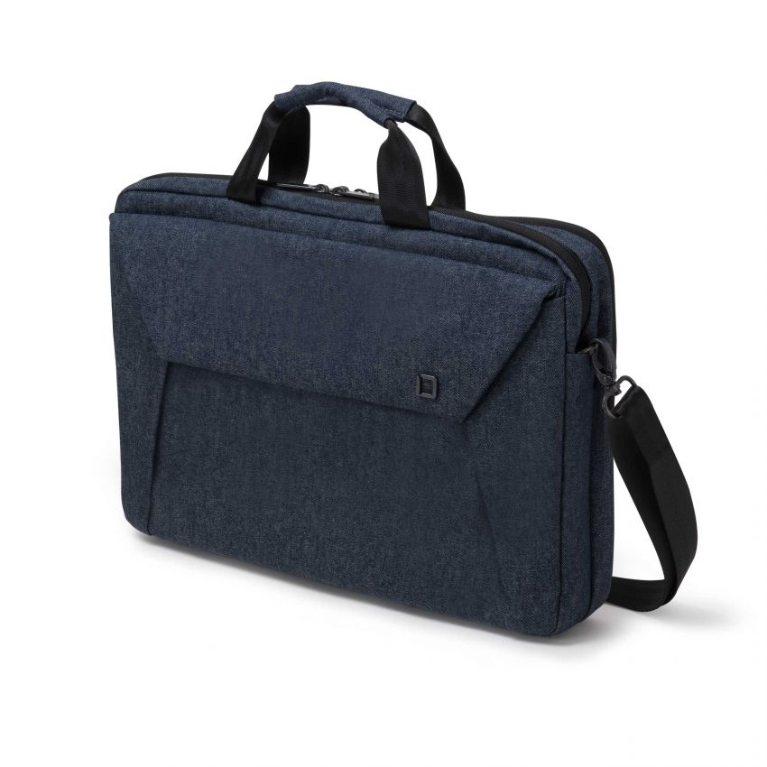 Dicota Slim Case Plus EDGE 14-15.6 blue denim