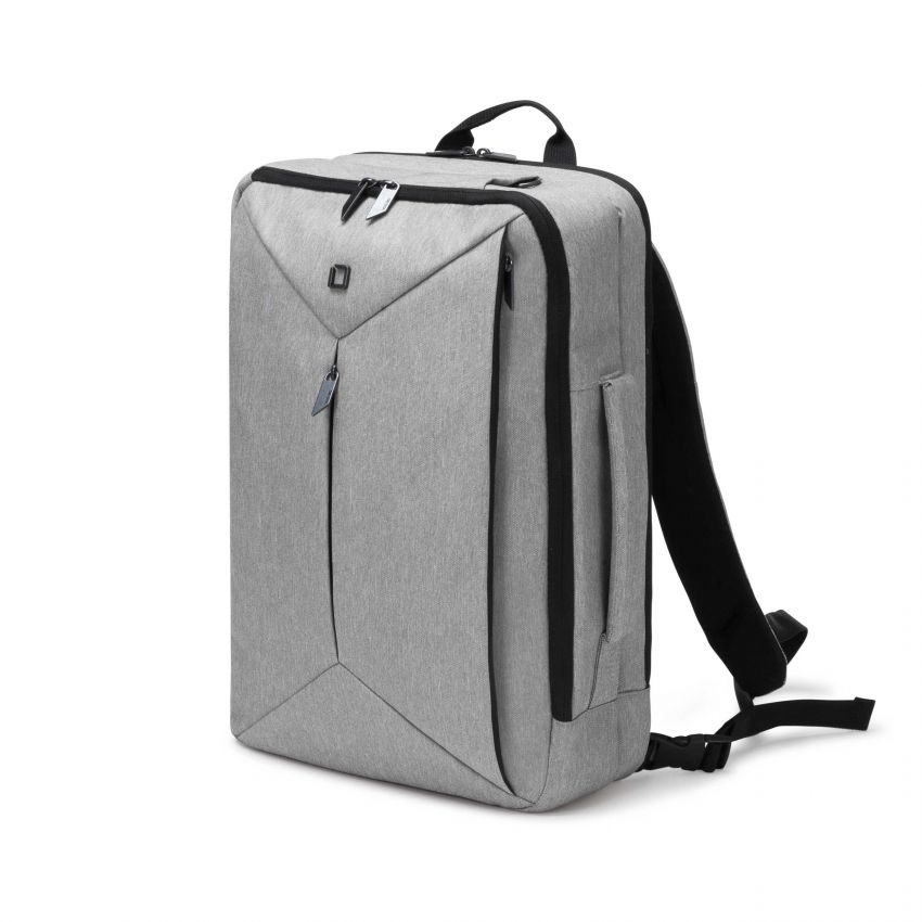 Dicota Backpack Dual EDGE 13-15.6 light grey