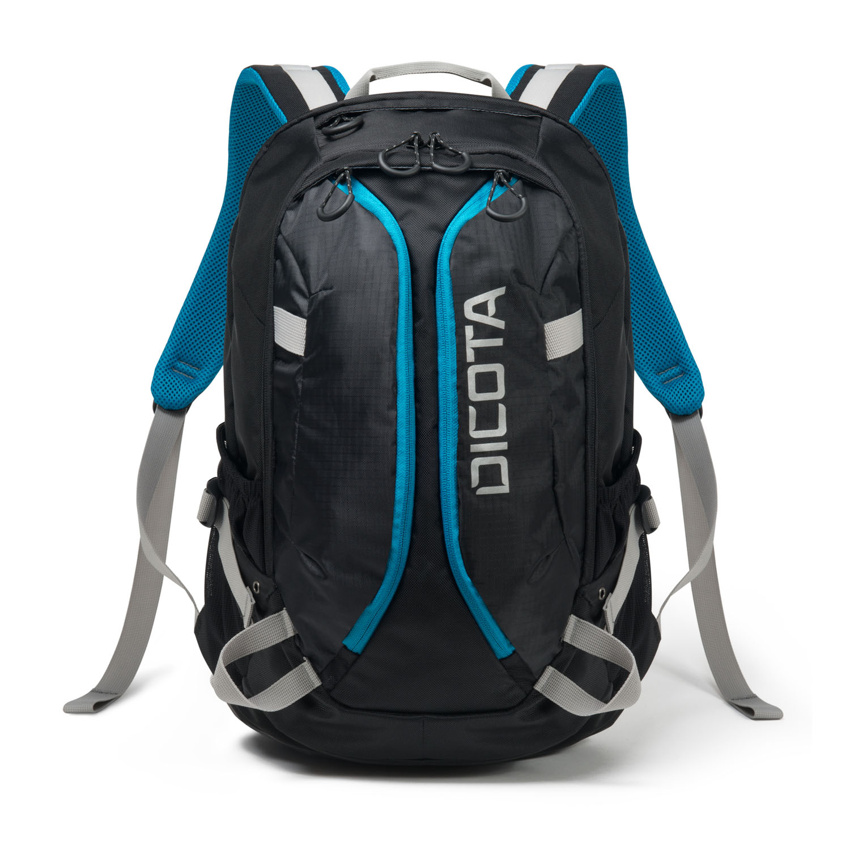 Dicota Backpack Active 14-15,6' černo/modrá