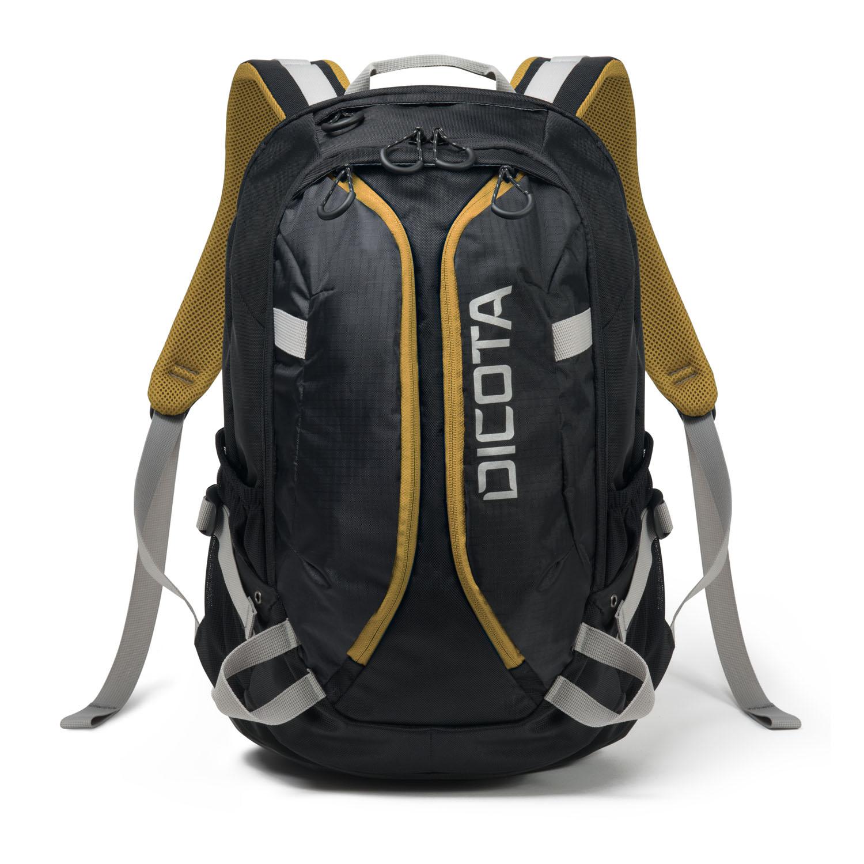 Dicota Backpack Active 14-15,6' černo/žlutá