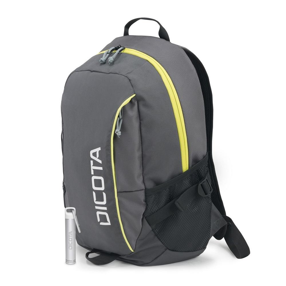 """Dicota Backpack Power Kit Premium 14""""-15,6"""" - Šedý + Power Banka ZDARMA"""