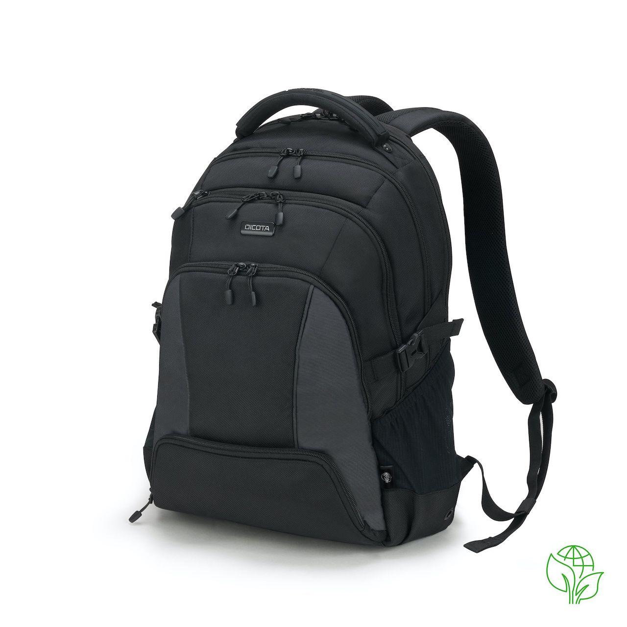 Dicota ECO backpack SEEKER 15-17,3 black - D31814