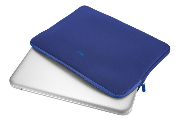"""TRUST Primo Soft Sleeve for 15.6"""" laptops - blue"""