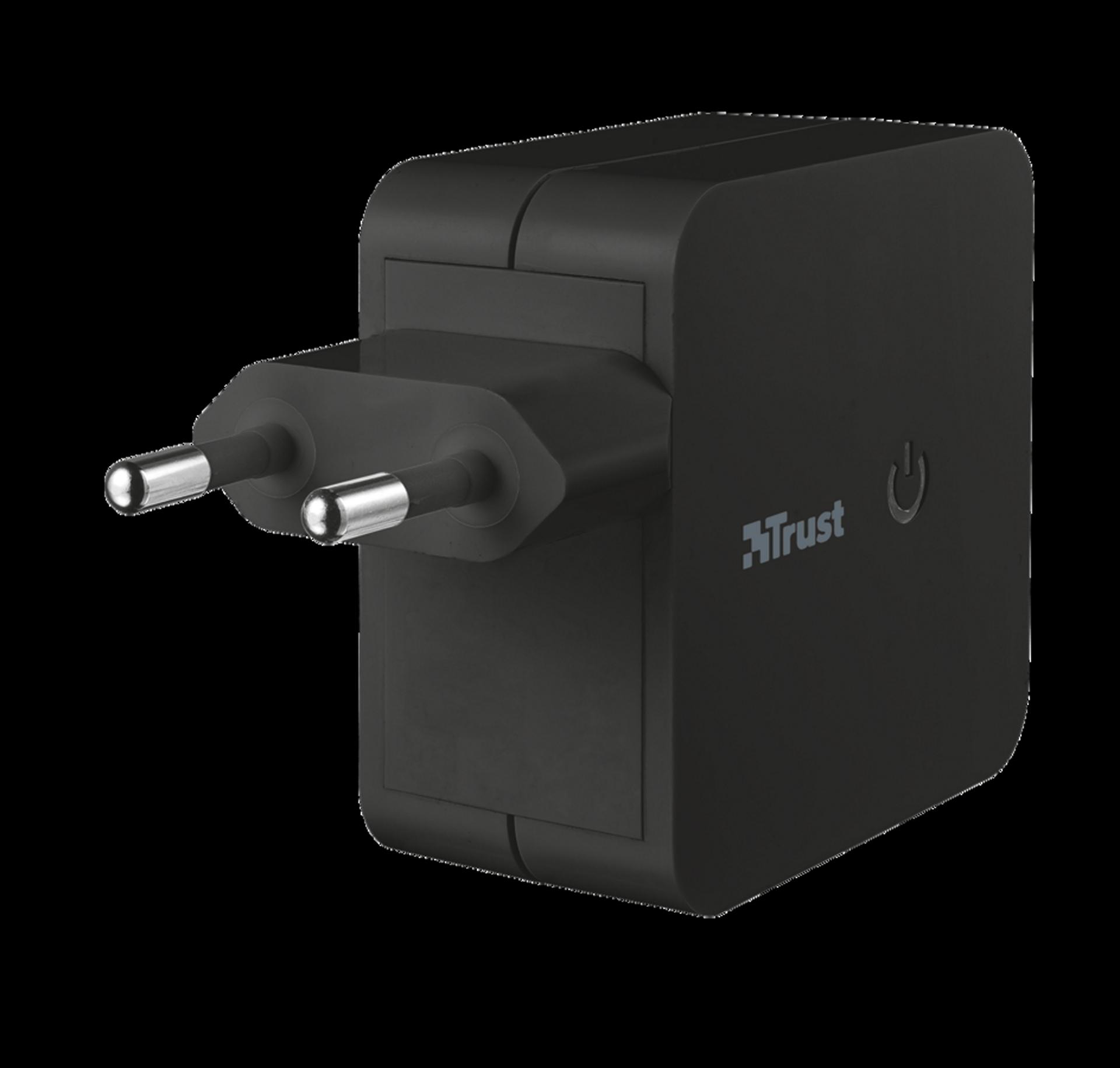 nabíječka TRUST Wall Charger 2 USB ports - 2x12W