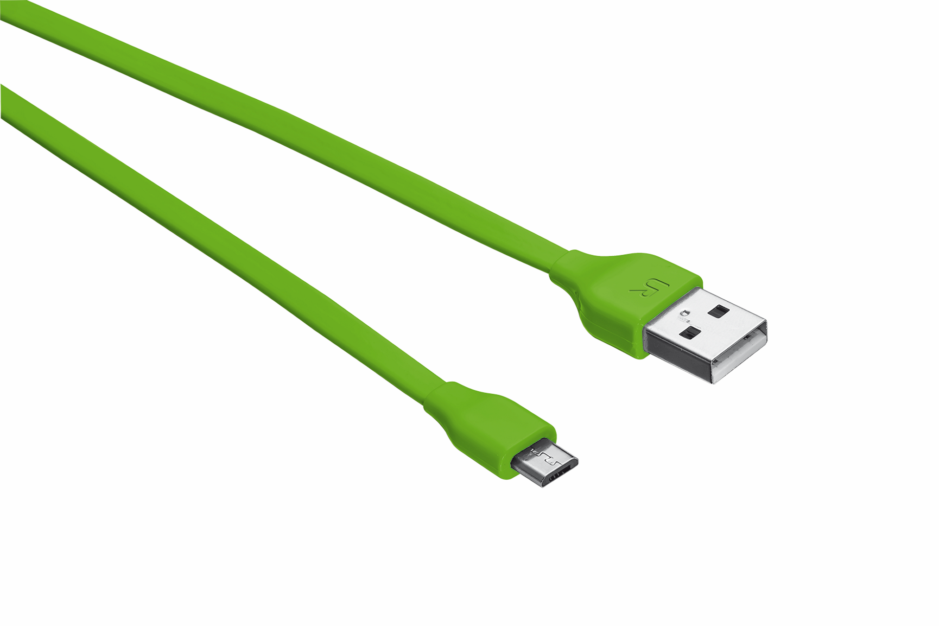 TRUST Flat Micro-USB Cable 1m - lime