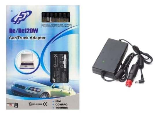 Auto/Truck adaptér k notebooku, Fortron 120W, 19V