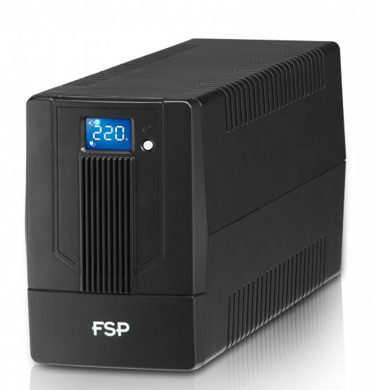 FSP/Fortron UPS iFP 1000, 1000 VA / 600W, LCD, line interactive - PPF6001300