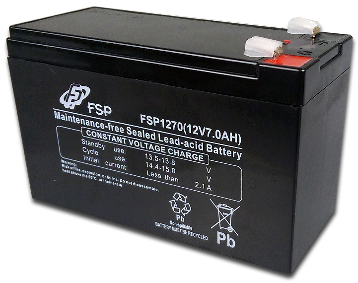 FSP/Fortron 12V/7Ah baterie pro UPS Fortron/FSP - MPF0000100GP