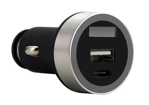 FSP/Fortron Micro CLA USB autonabíječka Shining VD16, 3.1 A, USB*1 & USB-C*1 (pro osobní i náklad.) - POA0000001