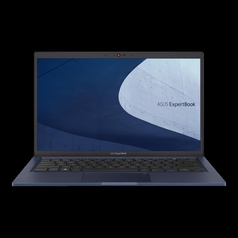 ASUS ExpertBook B1400/14''/i5-1135G7 (4C/8T)/8GB/512GB SSD/FPR/TPM/W10P/Black/2Y PUR - B1400CEAE-EB0019R