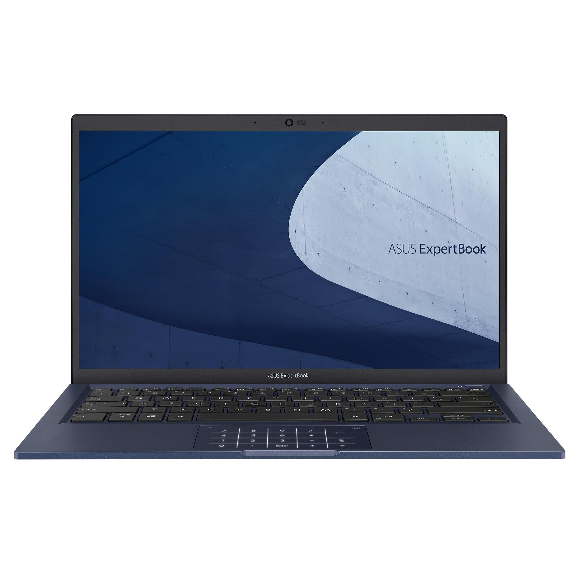 ASUS ExpertBook B1400/14''/i5-1135G7 (4C/8T)/16GB/512GB SSD/FPR/TPM/W10P/Black/2Y PUR - B1400CEAE-EB2521R