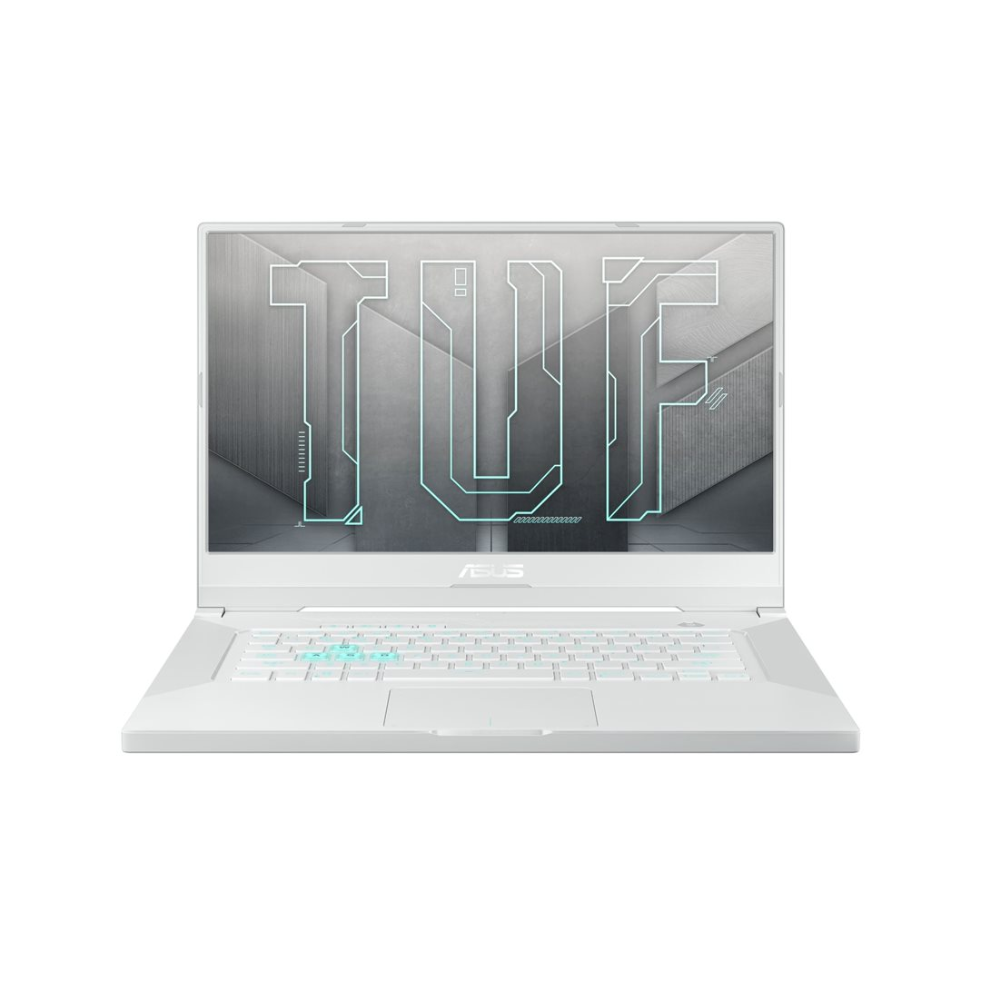 ASUSTUF DashF15 - 15,6''/144Hz/i7-11370H/8G*2/512G SSD/RTX3050/W10 Home (Moonlight White/Aluminum) - FX516PC-HN005T