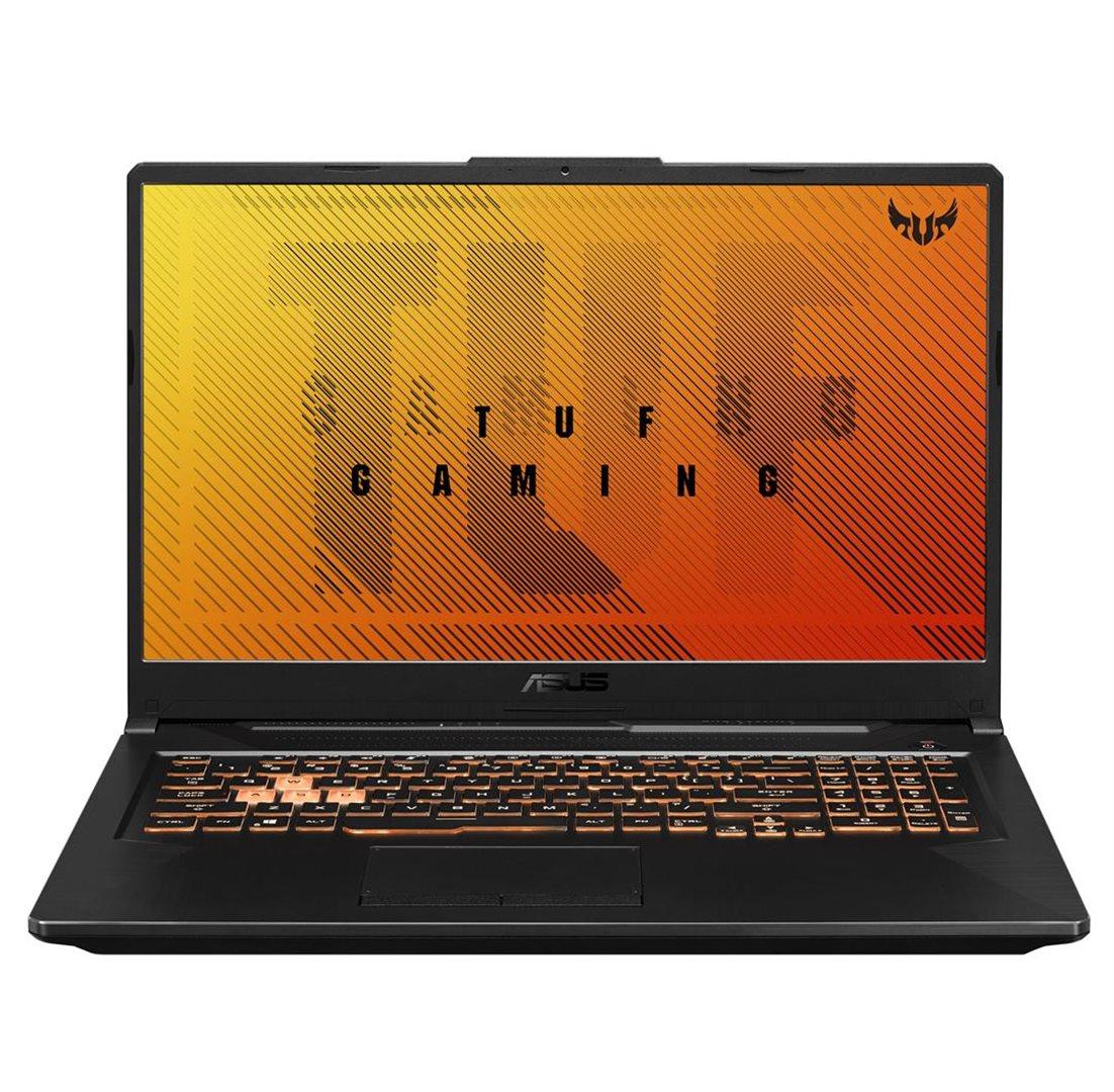 ASUS TUF Gaming F17 FX706LI - 17,3''/144Hz/i7-10870H/8G*2/512G PCIE/GTX1650Ti/W10H (B. Black/Plastic) - FX706LI-HX205T