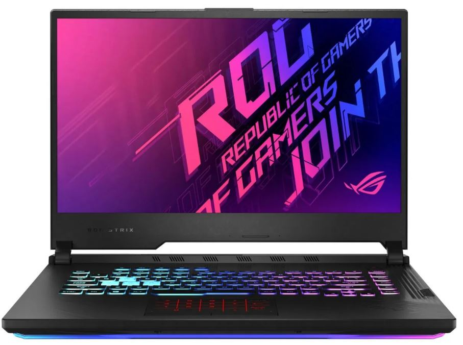 ASUS ROG Strix G15 G512LW - 15,6'' IPS/i7-10750H/8G*2/1T PCIE/RTX2070 8GB/W10 Home (Or.Black/Plastic)