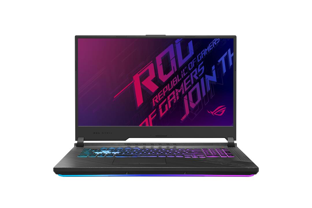 ASUS ROG Strix G17 G712LU - 17,3'' IPS/i7-10750H/8G*2/512G/GTX1660Ti 6GB/W10 Home (Or.Black/Plastic)