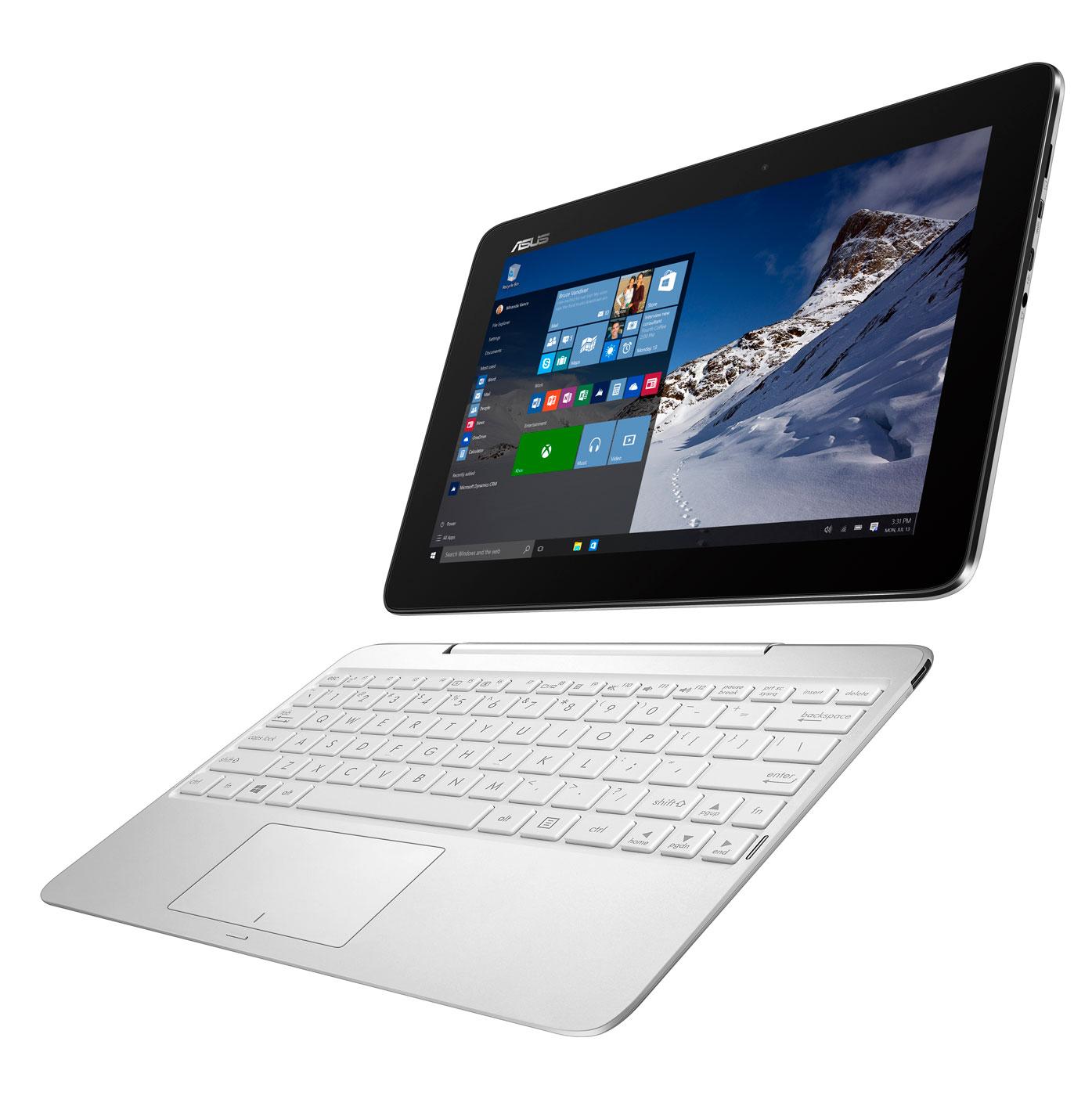 ASUS T100HA 10.1T/Z8500/64GB/4G/Win 10, bílý