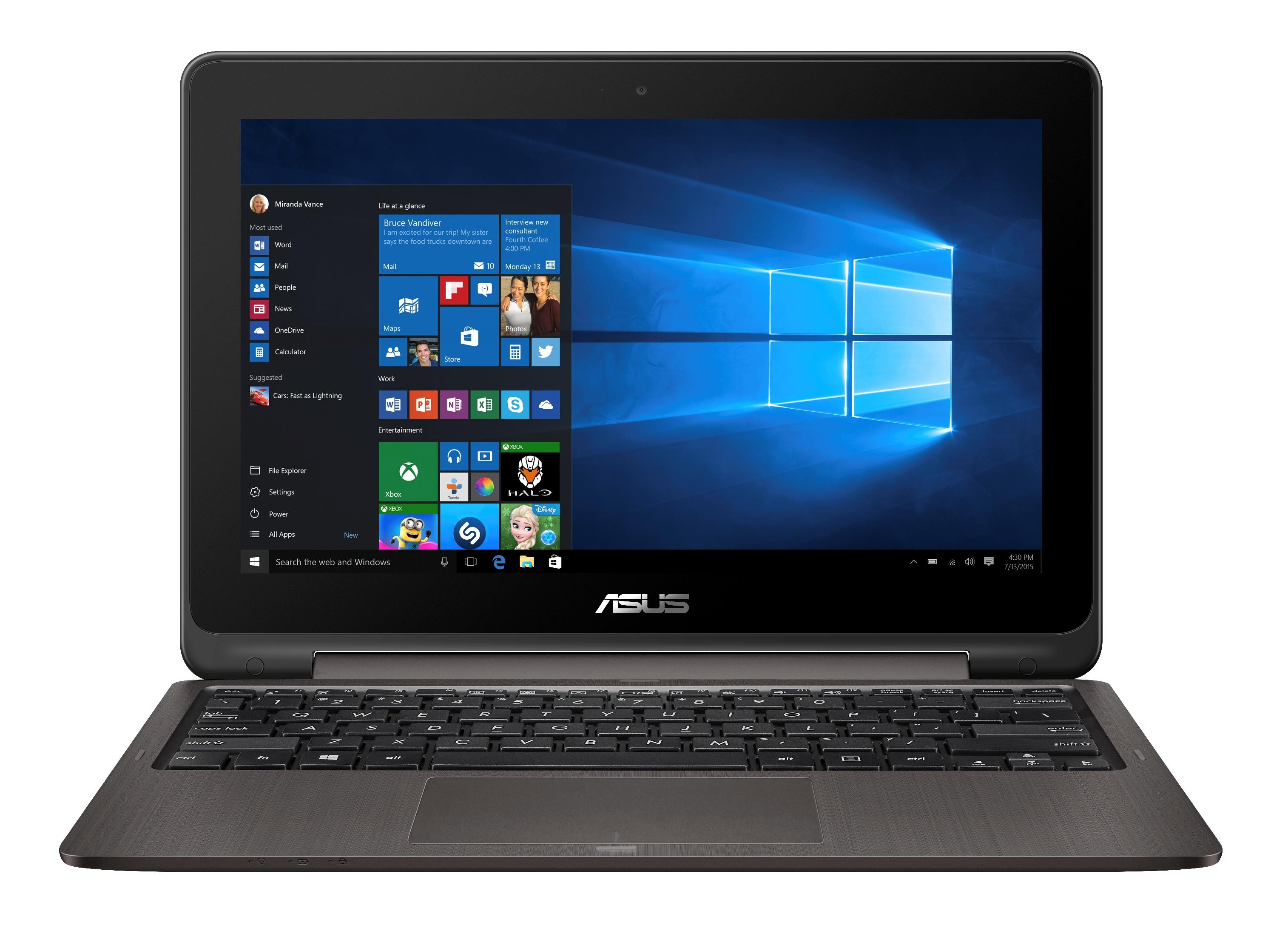 ASUS TP201SA 11,6T/N3710/500GB/4G/Win10