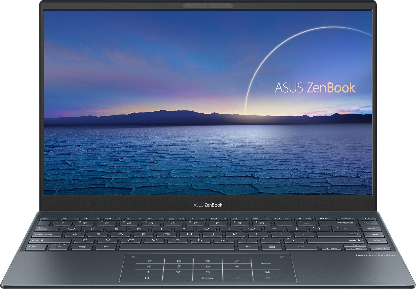 ASUS ZenBook 13 OLED - 13,3''/I5-1135G7/8GB/512GB/W10H (Pine Grey/Aluminum) + Záruka 3Y PICKUP&RETURN - UX325EA-KG261T