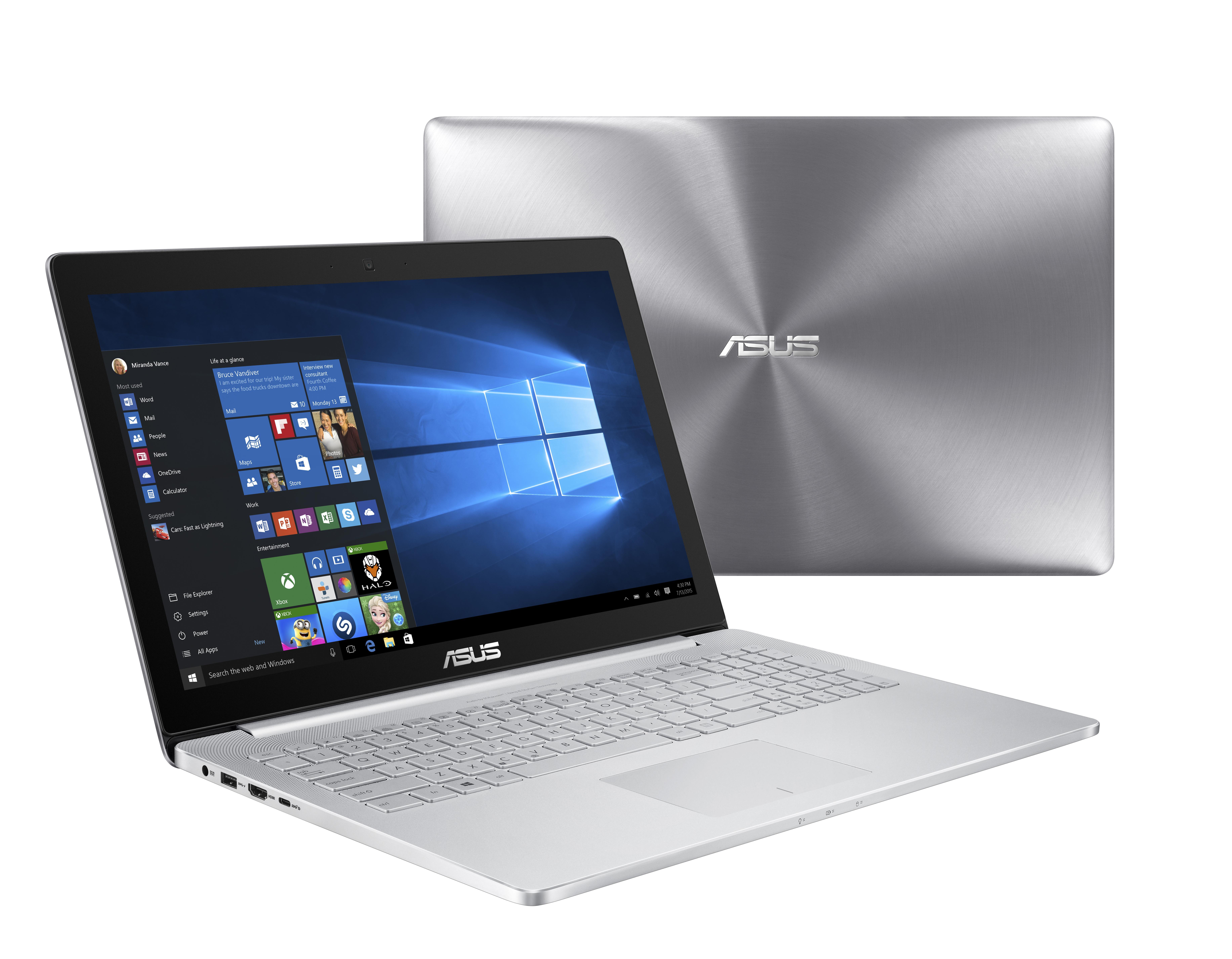ASUS UX501VW 15,6/i7-6700HQ/512SSD/16G/W10P stříb.