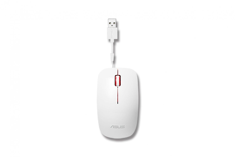 ASUS UT300 drátová myš - bílo-červená
