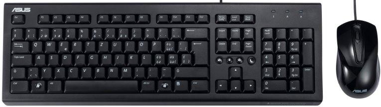 ASUS U2000 USB klávesnice+myš, černá