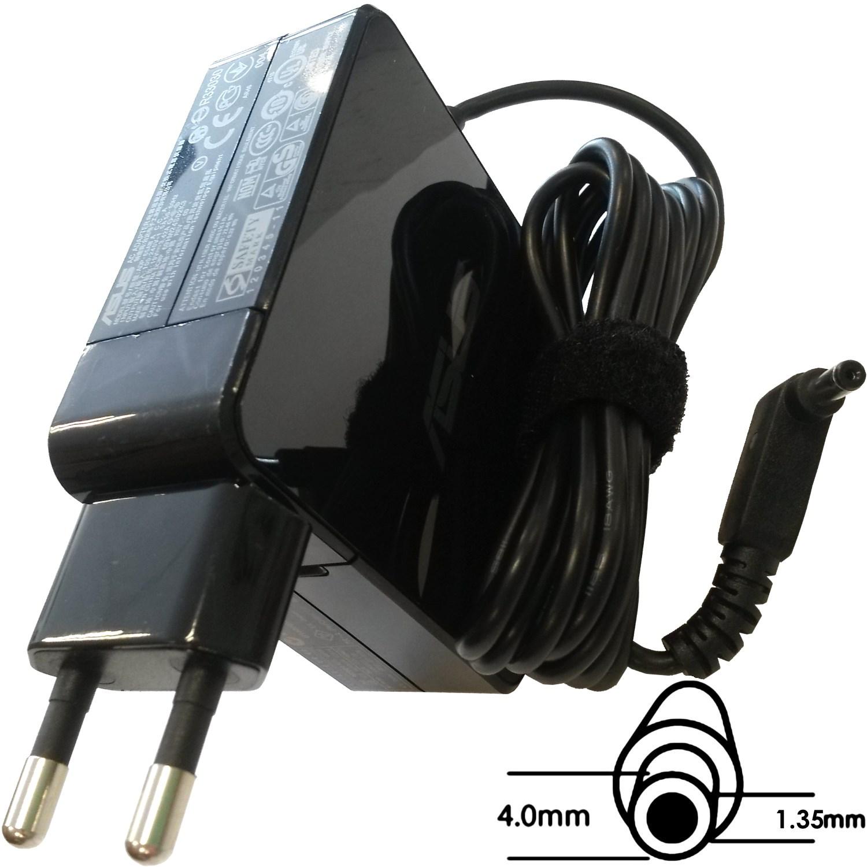 Asus orig. adaptér 65W19V (BLK) s EU plugem (B0A001-00040700) - B0A001-00040700
