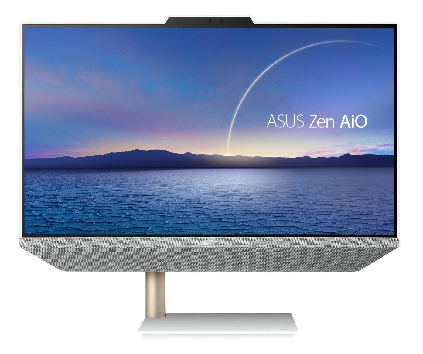 ASUS ZEN AIO A5401/23,8''TOUCH/i5-10500T (6C/12T)/16GB/512GB SSD/WIFI+BT/KL+M/W10H/White/2Y PUR - A5401WRAT-WA009T