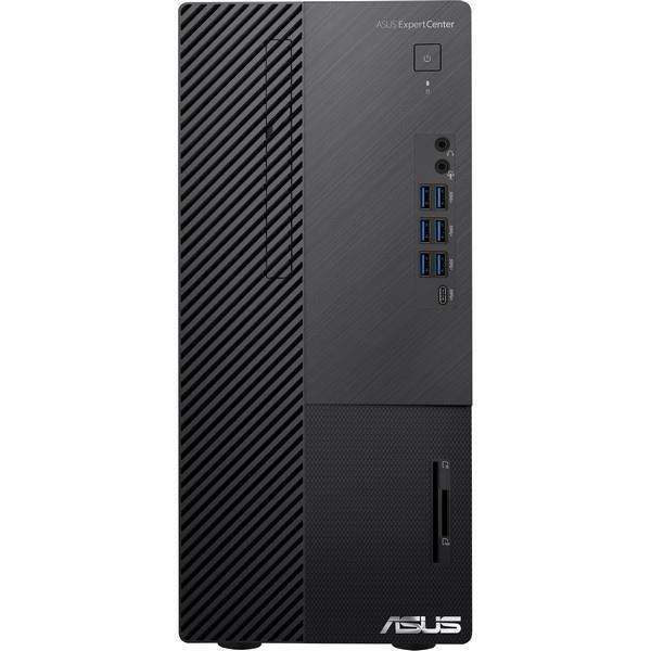 ASUS ExpertCenter D700MA/i5-10500 (6C/12T)/16GB/512GB SSD/WIFI+BT/TPM/CR/W10P/Black/3Y PUR - D700MAES-510500011R