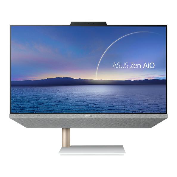 ASUS ZEN AIO M5401/23,8''/R5-5500U (6C/12T)/8GB/512GB SSD/WIFI+BT/KL+M/W10H/White/2Y PUR - M5401WUAK-WA148T