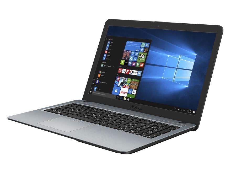 """ASUS X540BA - 15,6"""" TN FHD/AMD A6-9225/4G/1T HDD/W10 (Silver)"""