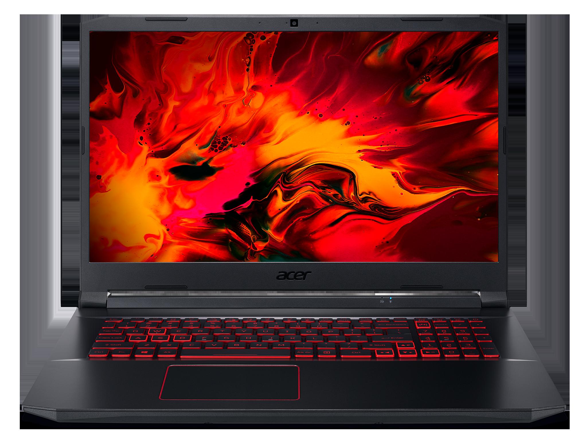 Acer Nitro 5 - 17,3''/i5-10300H/2*8G/512SSD/RTX3050/144Hz/W10 černý - NH.QDVEC.004