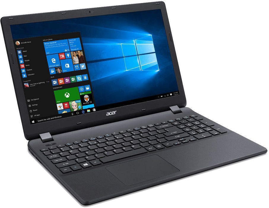 Acer Aspire ES 15 15,6/i3-5005U/4G/1TB/W10 černý