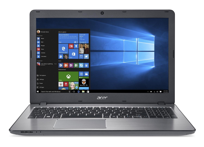 Acer Aspire F15 15,6/i3-6157U/4G/256SSD/W10 šedý